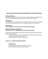How To Write A Dance Resume Scholarships Essays For College Students