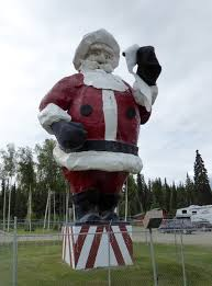 santa claus house north pole ak from
