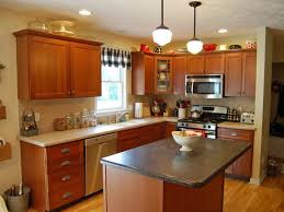 kitchen paint colors with cherry cabinets beige marble kitchen