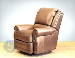 Brown Recliner Chair Leather Rocking Recliner Chair Massage Swivel Rocker Recliner