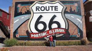 Route 66 Illinois Map by Travel Historic Route 66 In Pontiac Il Wanderlust Moms