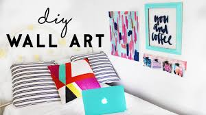 Inexpensive Wall Art by Diy Wall Art Budget Room Decor For Dorm Rooms Youtube