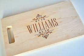 engravable cutting boards personalized cutting board laser engraved 8x14 wood cutting