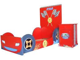 Kidkraft Racecar Bookcase Race Car Twin Bed Red Car Bed Twin Size U2014 Modern Storage Twin Bed
