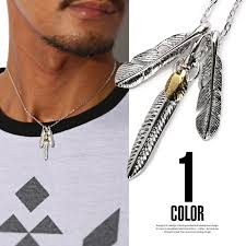 fashion necklace gold images Lux style necklace men accesoryheartfezer feather shuttlecock jpg