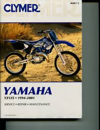 m497 2 clymer yamaha yz125 1994 2001 service repair manual