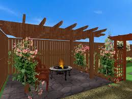 Deck And Patio Ideas For Small Backyards Triyae Com U003d Backyard Pergola Designs Various Design Inspiration