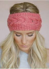 solid knitted headband fairyseason