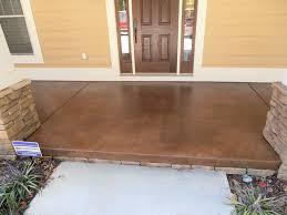 stained concrete for exterior porches u0026 patios decorative