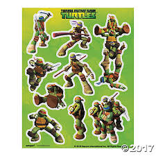 mutant ninja turtles sticker sheets