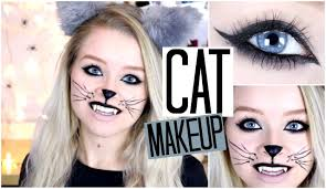 cute halloween cat makeup halloween cat makeup sophdoesnails youtube
