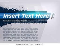 blue modern layout title design stock vector 589101203 shutterstock
