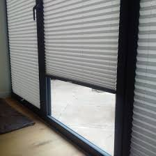 pleated side blinds for bi fold doors bramley blinds and awnings
