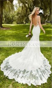 backless wedding dress backless wedding dress with cap sleeves 2016 lace wedding gown