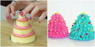 Jessica Mattern by How To Make Adorable Miniature Christmas Tree Cakes Viral