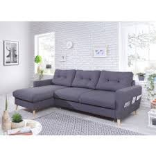 canapé gris foncé canapé d angle gris conforama