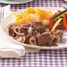 Dinner Ideas For Valentines Day At Home Braised Beef With Mushrooms Recipe Taste Of Home