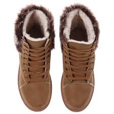 womens fur boots uk womens beige fur top and lining boots