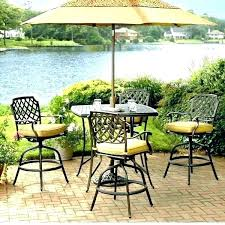 Patio Chairs Bar Height Patio Bar Set Bikepool Co