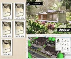 notto3ds laubwerk plants for sketchup facebook