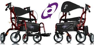 Transport Walker Chair Airgo Fusion Rollator Transport Wheelchair Rollator Rollator