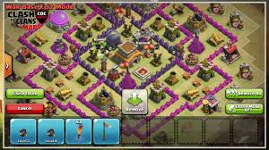 Coc Map Clash Of Clans Th8 War Base Layout Defense Strategy Video