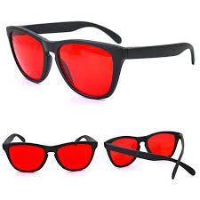 Red Green Blind Colorblindness Corrective Glasses For Red Green Color Blind Ebay