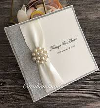 silver wedding invitations buy wedding invitations silver and get free shipping on aliexpress