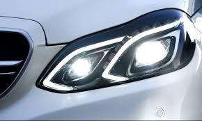mercedes c class headlights 2014 mercedes benz e63 amg 4matic front view headlight closeup jpg