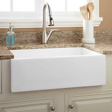 kitchen exciting apron front sink and kitchen faucets with white