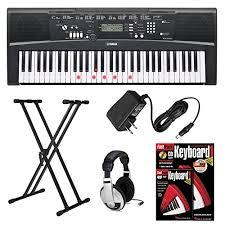yamaha keyboard lighted keys yamaha ez 220 61 lighted key premium portable keyboard with x style