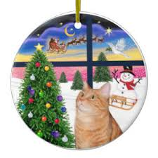 34 orange tabby cat ceramic ornaments zazzle ca