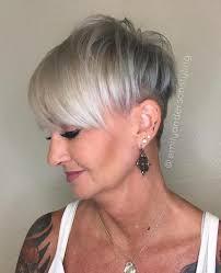 can older women wear an undercut 60 gorgeous gray hair styles undercut pixies and gray hair