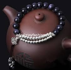 gemstone bead bracelet images Blue sandstone bracelets beaded bracelets women gemstone jpg