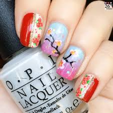 19 chinese new year nail art design embellished chinese new year