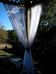 Outdoor Mesh Curtains Mosquito Netting Fabric Colors