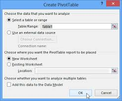 how to do a pivot table in excel 2010 excel 2013 pivottables page 2
