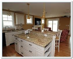 Kitchen Cabinets Granite Countertops by White Cabinets With Granite Countertops Home And Cabinet Reviews