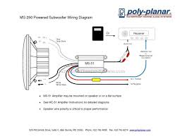 wiring diagram for subs subwoofer wiring diagrams amplifier
