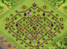 big clash of clans base bigger th10 trophies base by noel albiola clash of clans