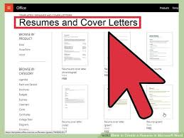 Microsoft Word Resume Templates 2007 How To Create A Resume In Microsoft Word With 3 Sample Resumes