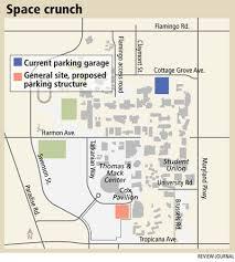 Parking Building Floor Plan Second Parking Garage Proposed For Unlv U2013 Las Vegas Review Journal