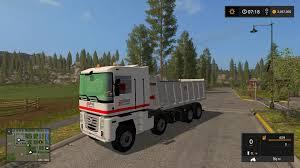 renault trucks magnum renault magnum 8x8 eiffage tfsg v1 0 0 0 farming simulator 2017