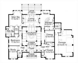 ideas about interior courtyard floor plans free home designs