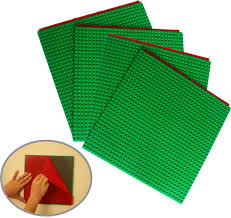 plates that stick to table peel and stick self adhesive brick building base plates 4 pack 10