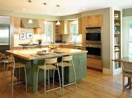 kitchen island green kitchen island butcher block with seating