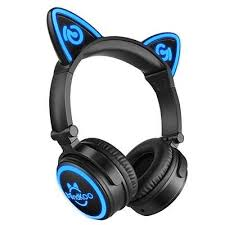 light up cat headphones mindkoo cat ear headphones review meow review hub