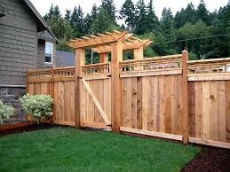 Backyard Fence Ideas Pictures Decorations Outdoor Fence Decor Ideas Outdoor Fence Decorating