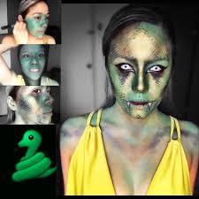 halloween snake makeup tutorial youtube