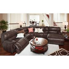 Reclining Sofa With Chaise by St Malo 6 Piece Power Reclining Sectional With Right Facing